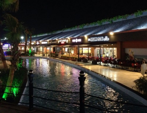 Tuzla Viaport Marina LED Lighting