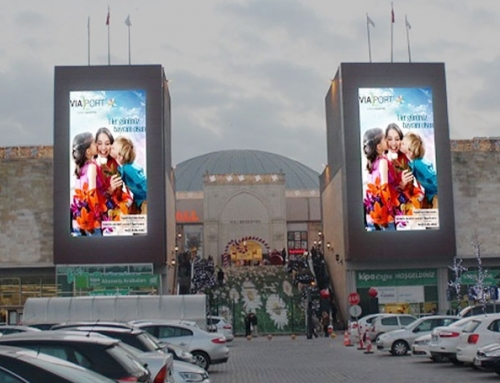 Viaport Outlet Shopping Giant LED Screen