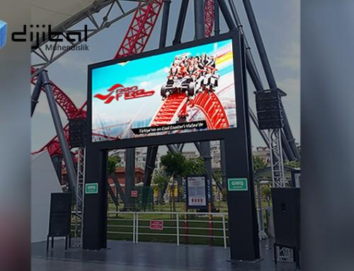 Roller Coaster LED Ekran