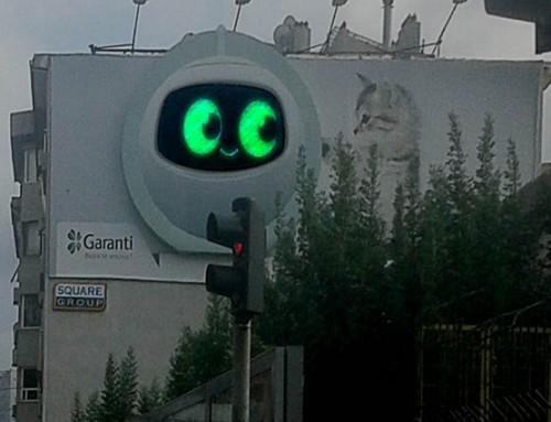 Garanti Bankası LED Ekran Uygulaması